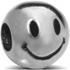 Charm EMOTICONS, in argento 925‰: OTTIMISTA - ARGENTO