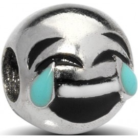 Charm EMOTICONS, in argento 925‰: DIVERTITO - ARGENTO