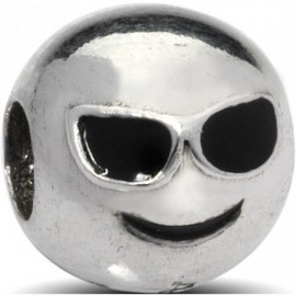 Charm EMOTICONS, in argento 925‰: COOL - ARGENTO