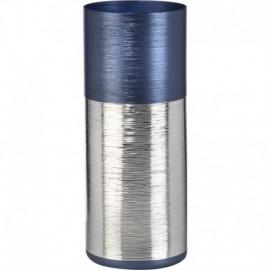 Vaso cilindrico SINFONIA h.30cm - BLU NOTTE