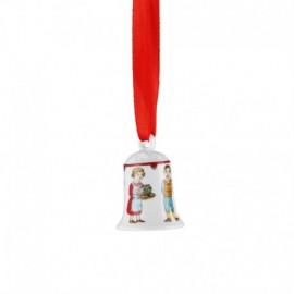 -LIQUIDAZIONE- Minicampanella porcellana 2016 Hutschenreuther: Dolce natalizio