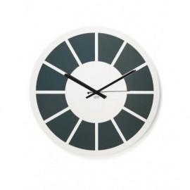 LIQUIDAZIONE! Orologio da muro, in acciaio - Cresia mod.8010