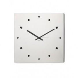 LIQUIDAZIONE! Orologio da muro, in acciaio - Cresia mod.8006