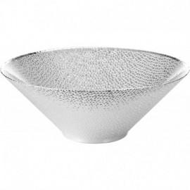 Coppa, argento su vetro, MILANO 30cm - ARGENTO