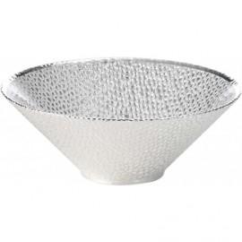 Coppa, argento su vetro, MILANO 20cm - ARGENTO