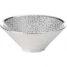 Coppa, argento su vetro, MILANO 14cm - ARGENTO