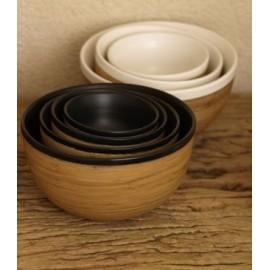Ciotola in ceramica e bamboo 8cm JIA - Family Bowls