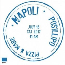 ANTEPRIMA 2017! - Piatto pizza Travel NAPOLI