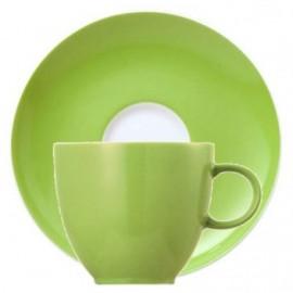 6 tazze caffè con piattino – Sunny Day Thomas - Green Apple