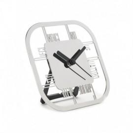 LIQUIDAZIONE! Orologio da tavolo, in acciaio - Cresia mod.8805