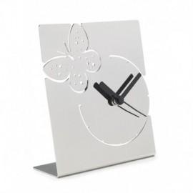 LIQUIDAZIONE! Orologio da tavolo, in acciaio - Cresia mod.8823
