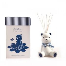 Diffusore Orsetto Azzurro - Millefiori Bambino + 2 flaconcini confetto in omaggio