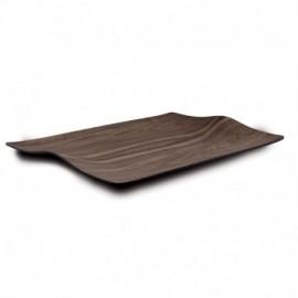 Vassoio in legno d'acero curvato cm 51 x 36 - VIVANDA
