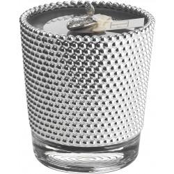 Candela Boucle Nero (Tè Nero) – Fragrance Argenesi – Argento su vetro 10.4 h11