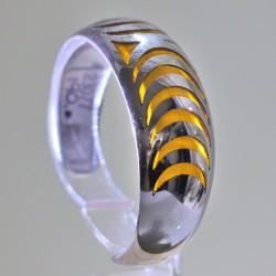 Bracciale argento e smalto mod.cuori - ITALO GORI