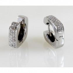Orecchini Quadri Con Diamanti | OOI