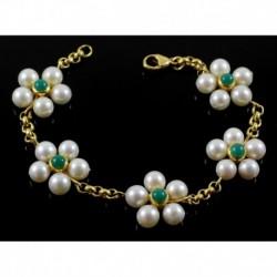 Bracciale Fiori Di Perle | AAA