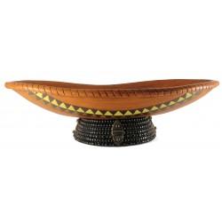 Centro tavola in ceramica - artigianato Masai