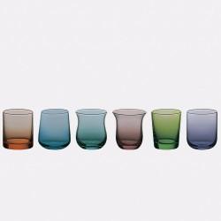 6 calici liquorino (shot) (6 colori e 6 forme diverse) DESIGUAL