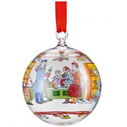 -LIQUIDAZIONE- Palla Natale 2016 in vetro: Kristall-Kugel 2016