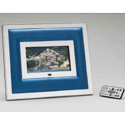 Portafoto digitale, in acciaio - Cresia mod.1201 DG8