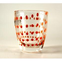 6 bicchierini da liquore h.6cm - Arancio