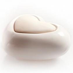 Diffusore in ceramica e gesso Lovely - CUORE BIANCO