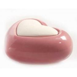 Diffusore in ceramica e gesso Lovely - CUORE ROSA