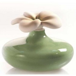 Diffusore in ceramica e gesso Lovely - FIORE PICC. VERDE