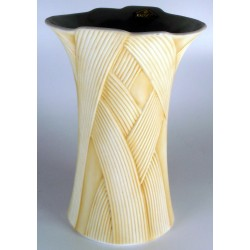 Vaso 17 cm in porcellana Biscuit - HACIENDA Crema