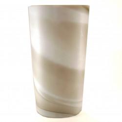 Vaso in cristallo effetto marmo – h.21cm – mod.Carrara PEILL