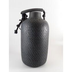 Vaso in ceramica - h.28cm - mod. THAI BLUE