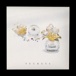 """Mini Vaso basso con fiori """"Secrets"""""""