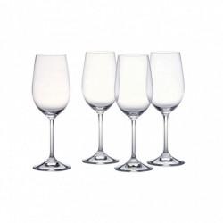 Confezione da 4 calici Classic White Wine - mod.Vintage