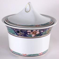 Scatola in porcellana - Ghirlanda