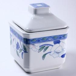 Zuccheriera in porcellana - Blue