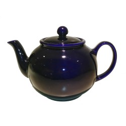"Teiera 1.3 l. in ceramica ""pottery""- mod. Navy Blue"