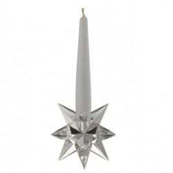 Candeliere in cristallo Kosta-Sterne 9cm