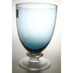 6 calici acqua (calice azzurro avion - gambo trasp.)