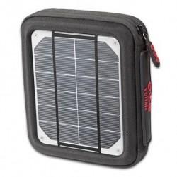 Caricatore a pannelli solari, 4w (2x2w), con powerbank incluso
