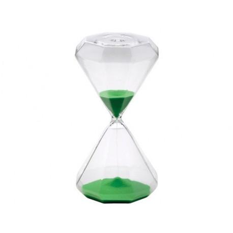 Clessidra verde (30 minuti) - h. 19,5 cm