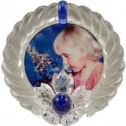 Cornice Portafoto 9.5cm - mod.Blue Flower