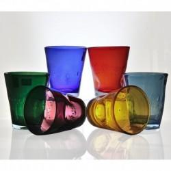 6 bicchieri acqua SAMOA 6colori