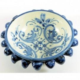 Ciotolina porta-snack blu 15cm