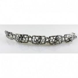 Bracciale Stelle Marine in argento con pt.preziose – SilverBlack